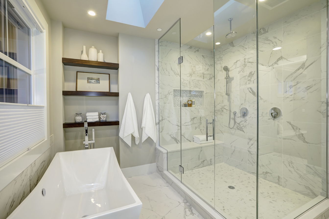 GP Company Glass Shower Doors in the Chicago Area